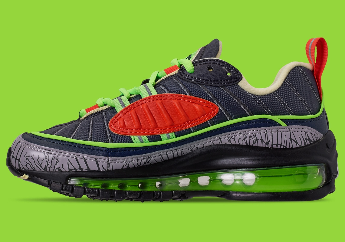 best website 27ff5 784d5 Nike Air Max 98 Halloween CT1171-001 Release Info ...