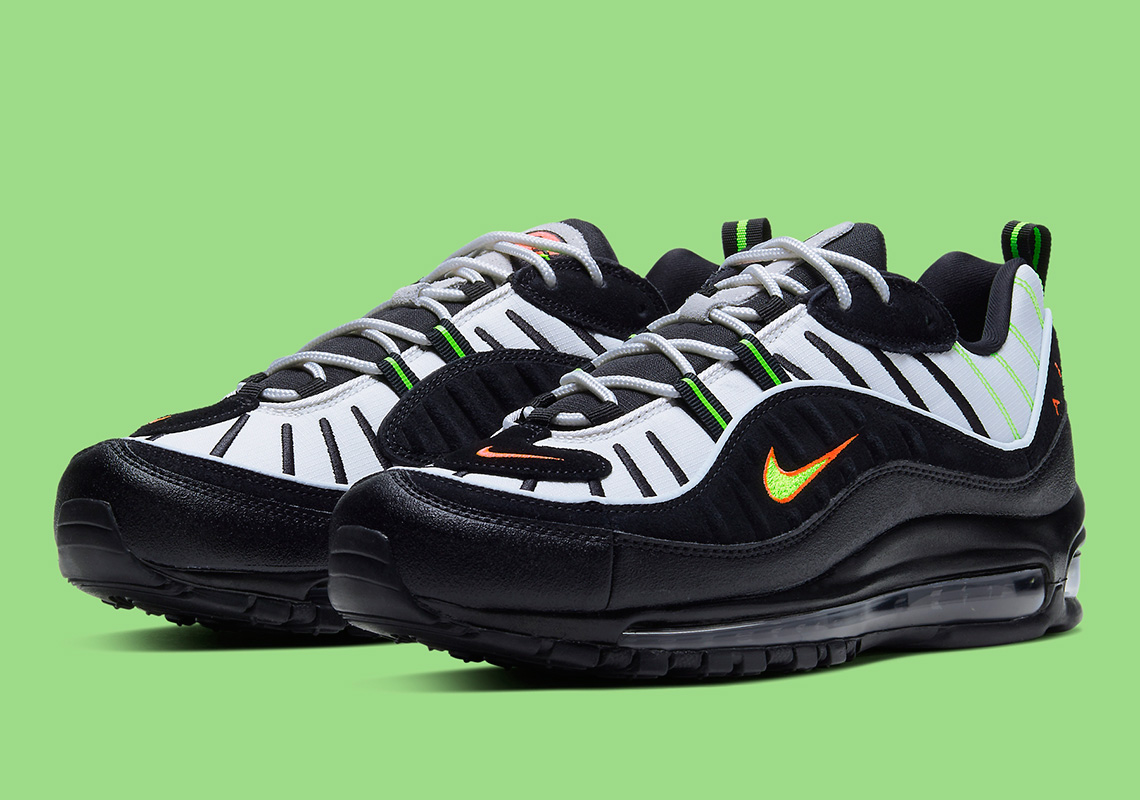 Nike Air Max 98 Highlighter 640744 015 Release Info