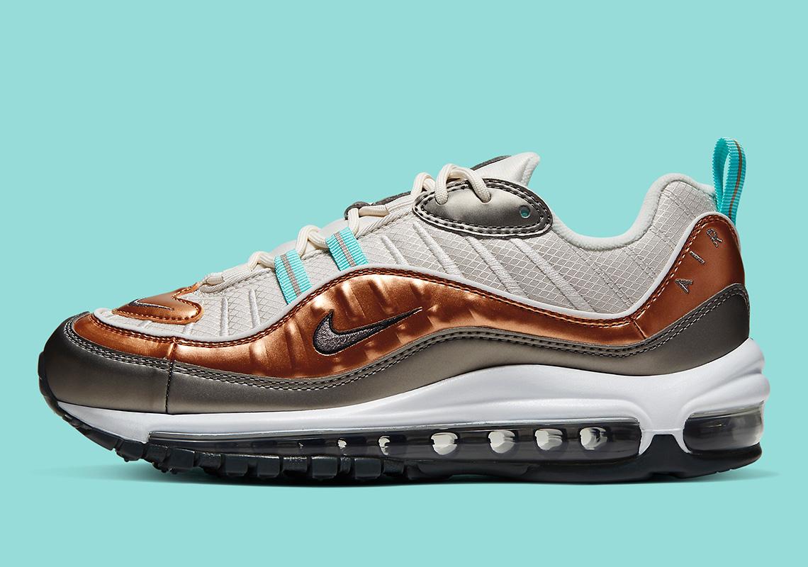 Nike Air Max 98 Bronze Metallic BV6536-002 Release Info | SneakerNews.com