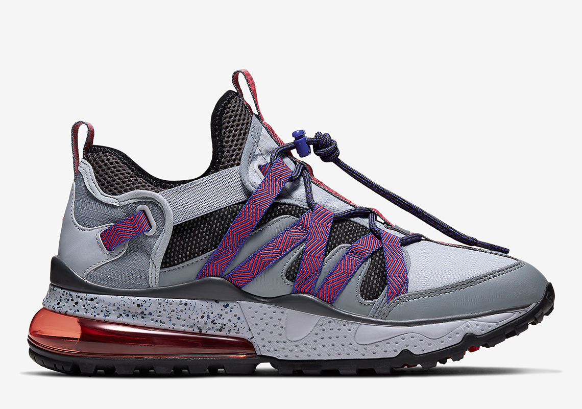 competitive price c2a1e bdc33 Nike Air Max 270 Bowfin Grey Red - Release Info ...