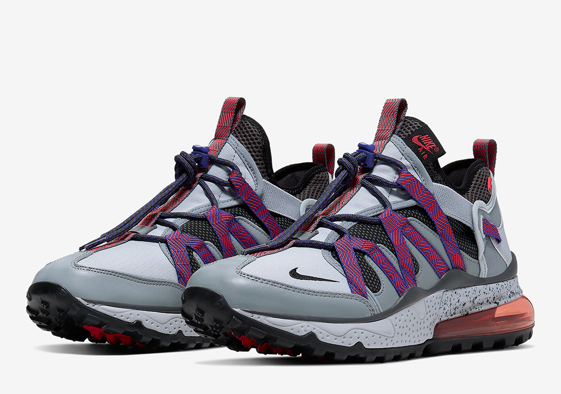 competitive price 4e792 eead0 Nike Air Max 270 Bowfin Grey Red - Release Info ...