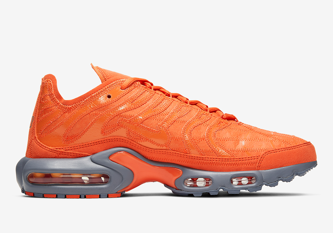 Nike Air Max Plus Orange Vintage Box CD0882 800