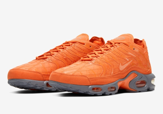 "The Deconstructed Nike Air Max Plus Appears In ""Vintage Box"" Colors"