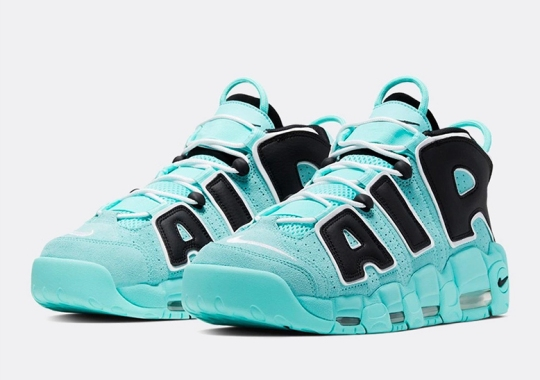 "Nike Paints The Air More Uptempo In A ""Diamond"" Colorway"