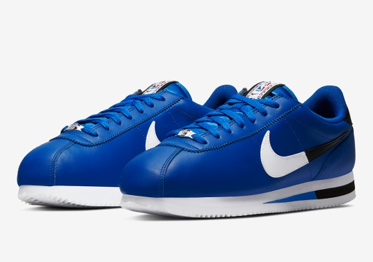 The Nike Cortez Joins The New NBA Season's Footwear Pack