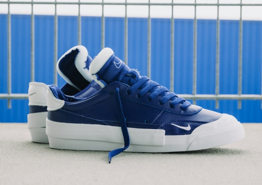 The Nike Drop-Type LX Appears In a Royal Blue and White Makeover