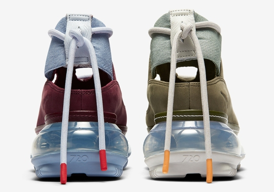 The Nike Air Max FF 720 Returns In Two Fall Friendly Suede Hues