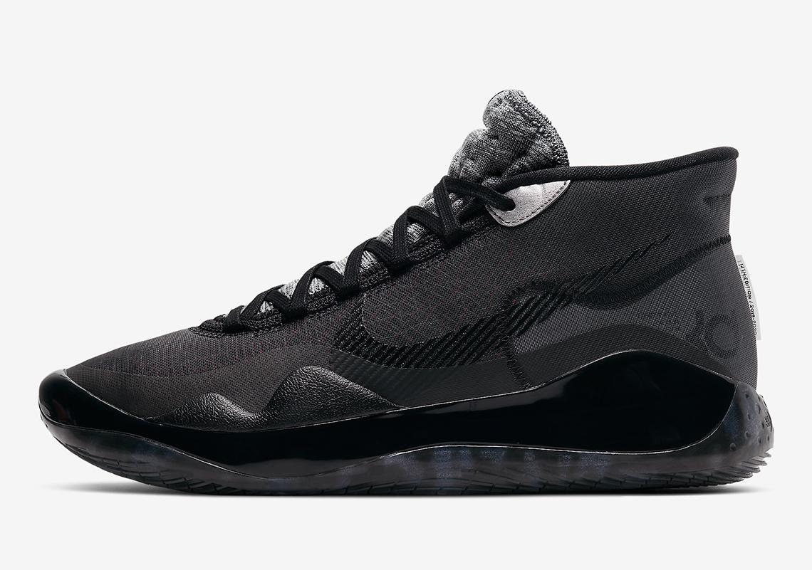 Nike KD 12 Black Cool Grey AR4230-003 | SneakerNews.com