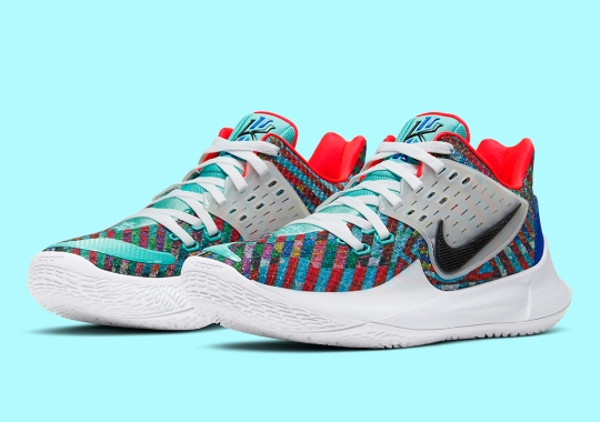 "Nike Kyrie Low 2 ""Multi-Color"" Is Releasing On October 1st"