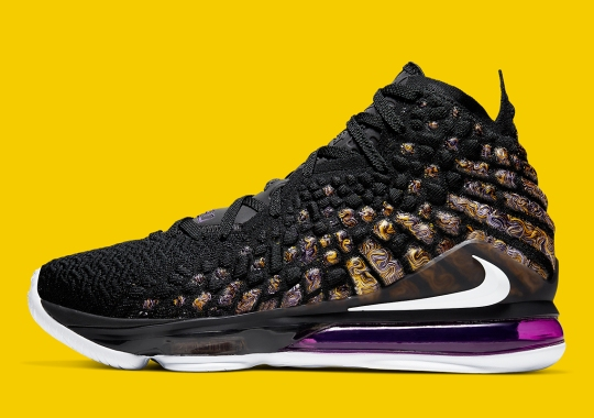 "Nike LeBron 17 ""Lakers"" Releases On October 10th"