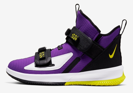 The Nike LeBron Soldier 13 Gets Another Laker-Friendly Colorway