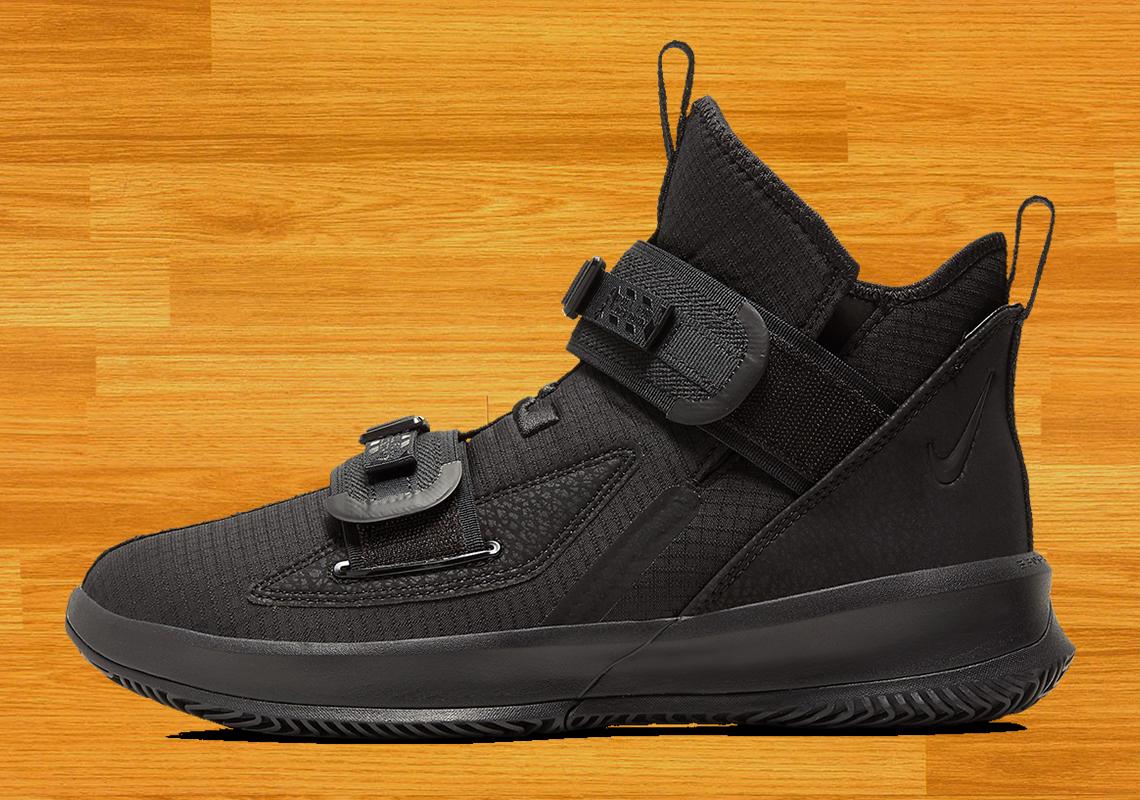 Nike LeBron Soldier 13 Triple Black
