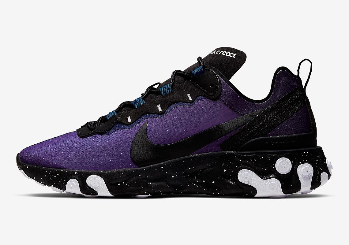 Cliente Iluminar etc.  Nike React Element 55 Day Night CK1410-400 | SneakerNews.com