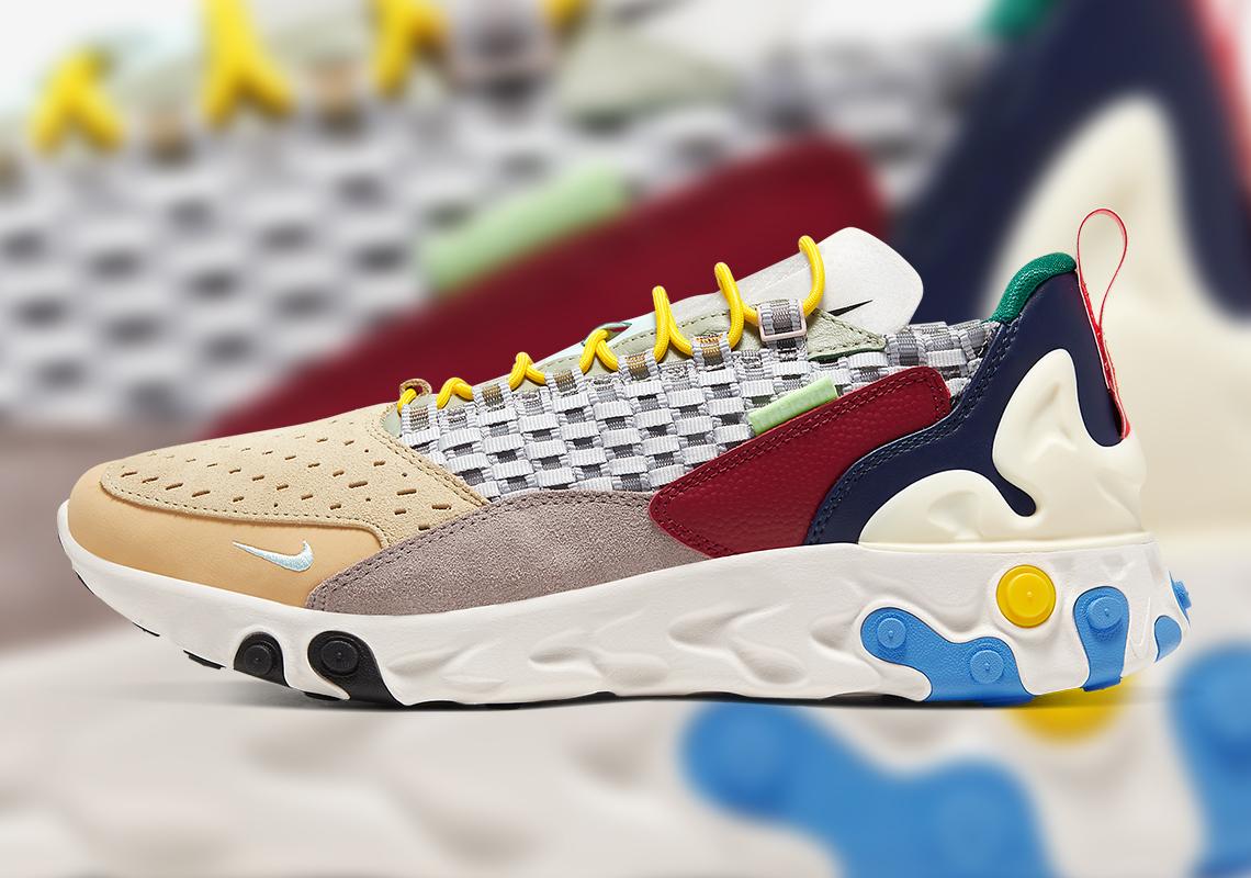 Nike React Sertu Multi-Color AT5301-001 | SneakerNews.com