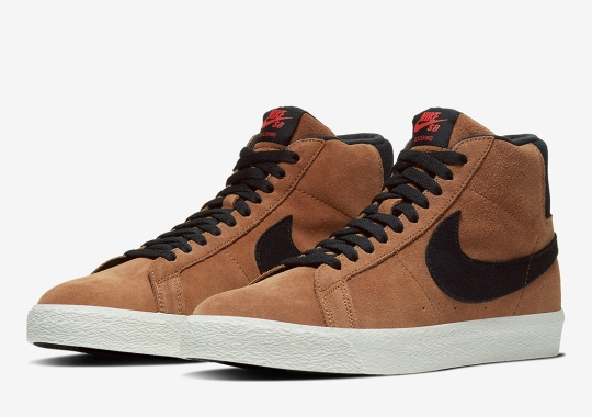 "The Nike SB Blazer Is Releasing In A ""Light British Tan"" Colorway"