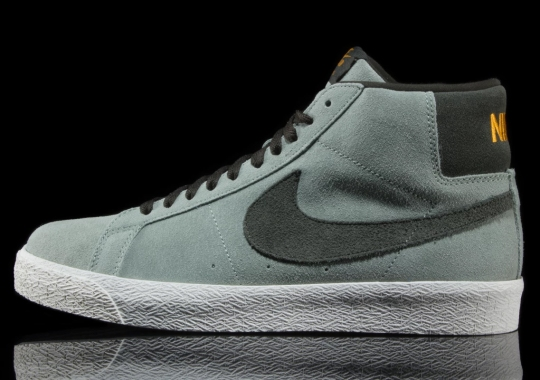 "Nike SB Drops A Clean Blazer Mid In ""Jade Horizon"""