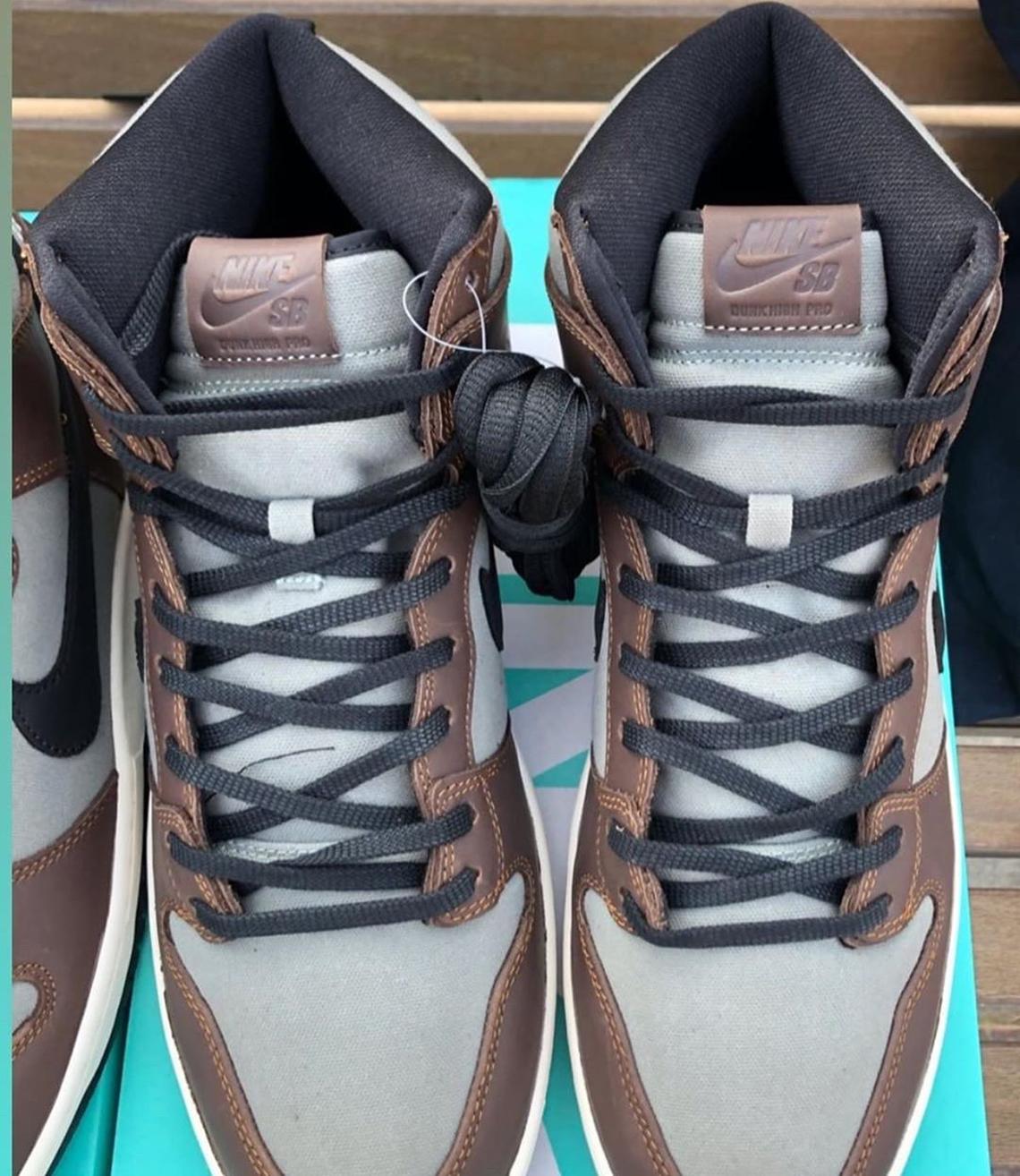 Nike SB Dunk High Baroque Brown Release