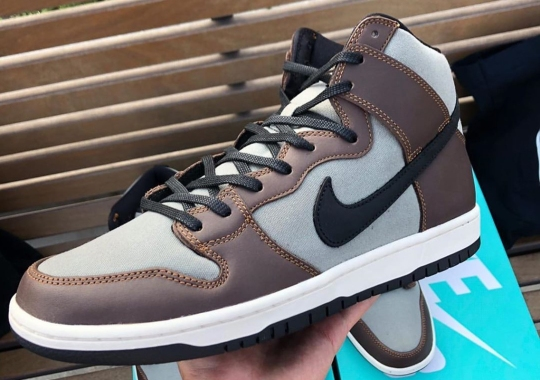 "Nike SB Dunk High ""Baroque Brown"" Slated For October Release"