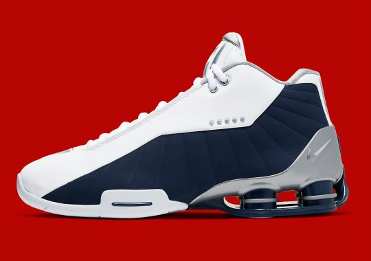 "The Nike Shox BB4 Is Returning In The OG ""Olympic"" Colorway"