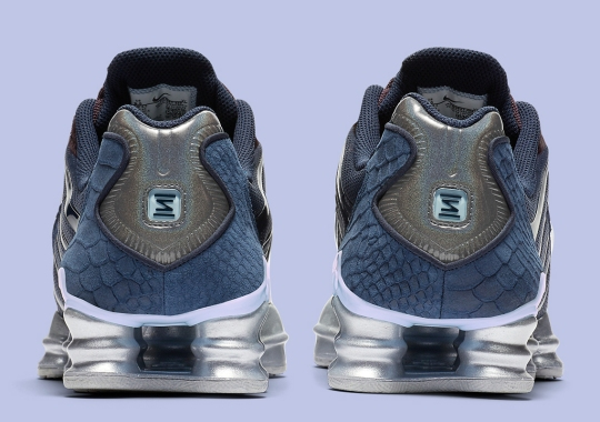 This Nike Shox TL Gets Wild With Python Skin And Pony Hair