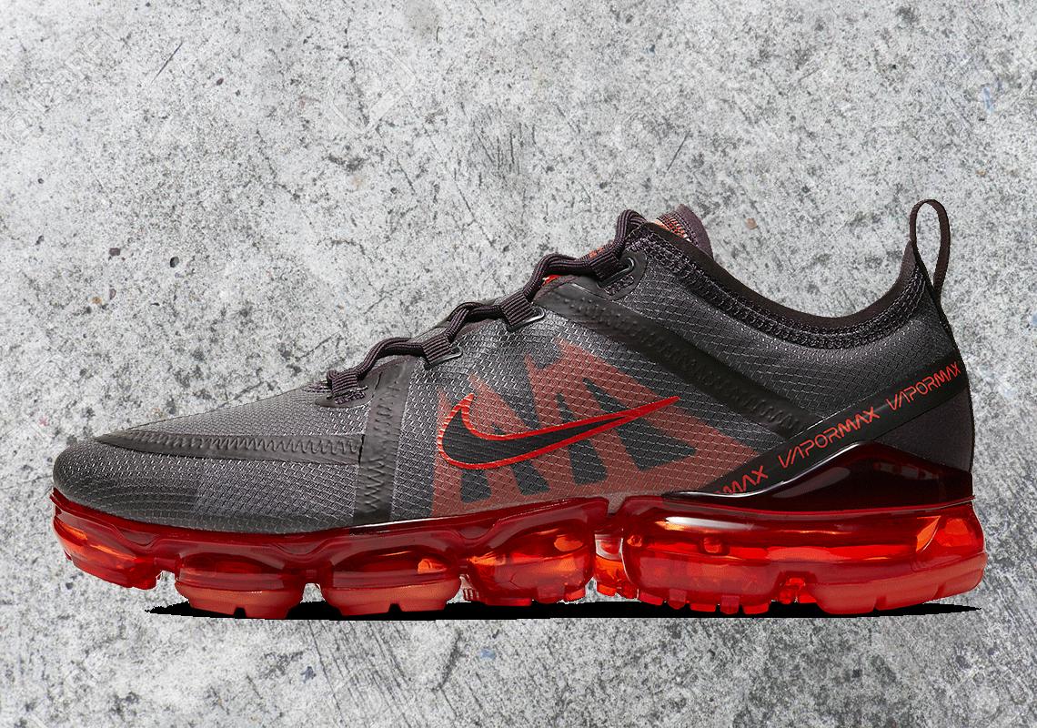 Nike Vapormax 2019 Grey Red AR6631-601