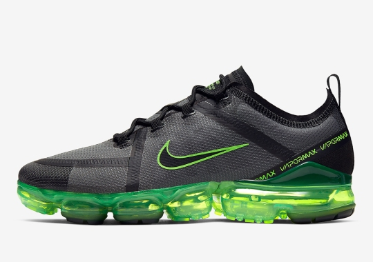 The Nike Vapormax 2019 Gets An Energetic Electric Green Upgrade