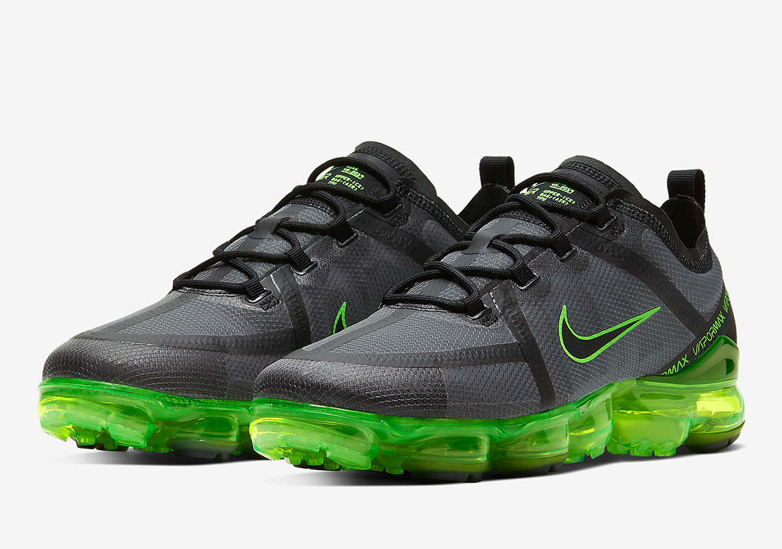 Nike Vapormax 2019 Black Green AR6631