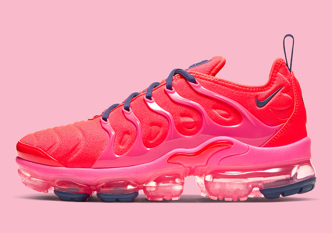 detailed images excellent quality half price Nike Vapormax Plus Neon Red CU4907-600 Release Info ...