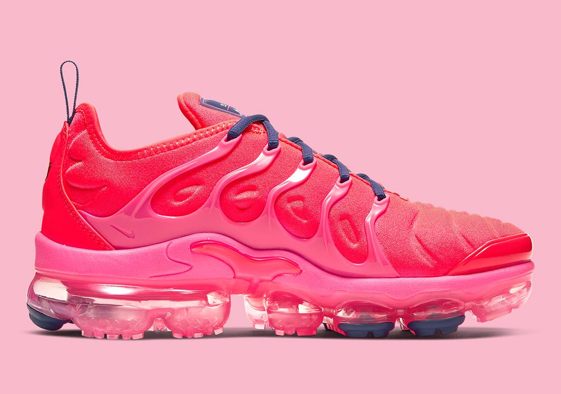Nike Vapormax Plus Neon Red CU4907-600