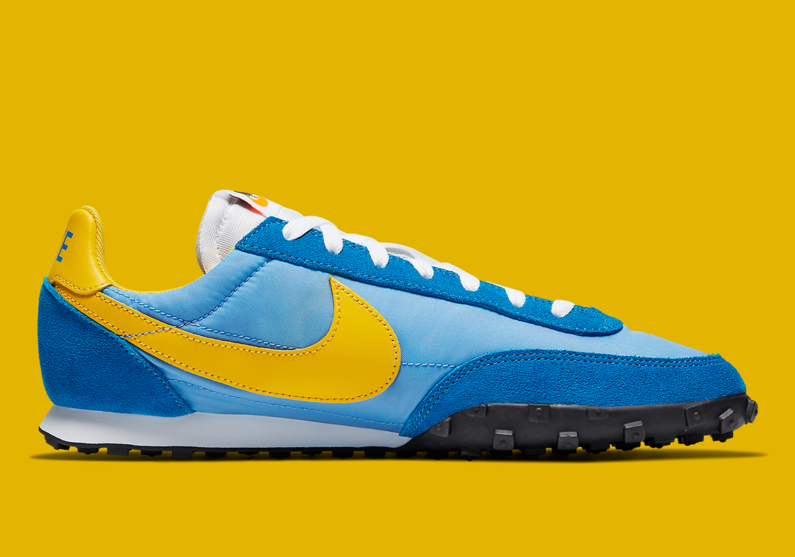 Nike Waffle Racer Blue Yellow CN5449