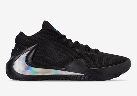 Giant Iridescent Swooshes Appear On This Upcoming Nike Zoom Freak 1