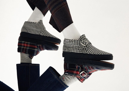 Noah And Vans Present Two Patterned Takes On The Chukka MS