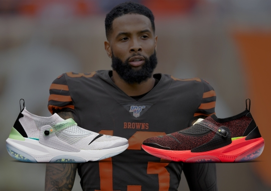Odell Beckham Jr. And Nike To Release Two Joyride Flyknits