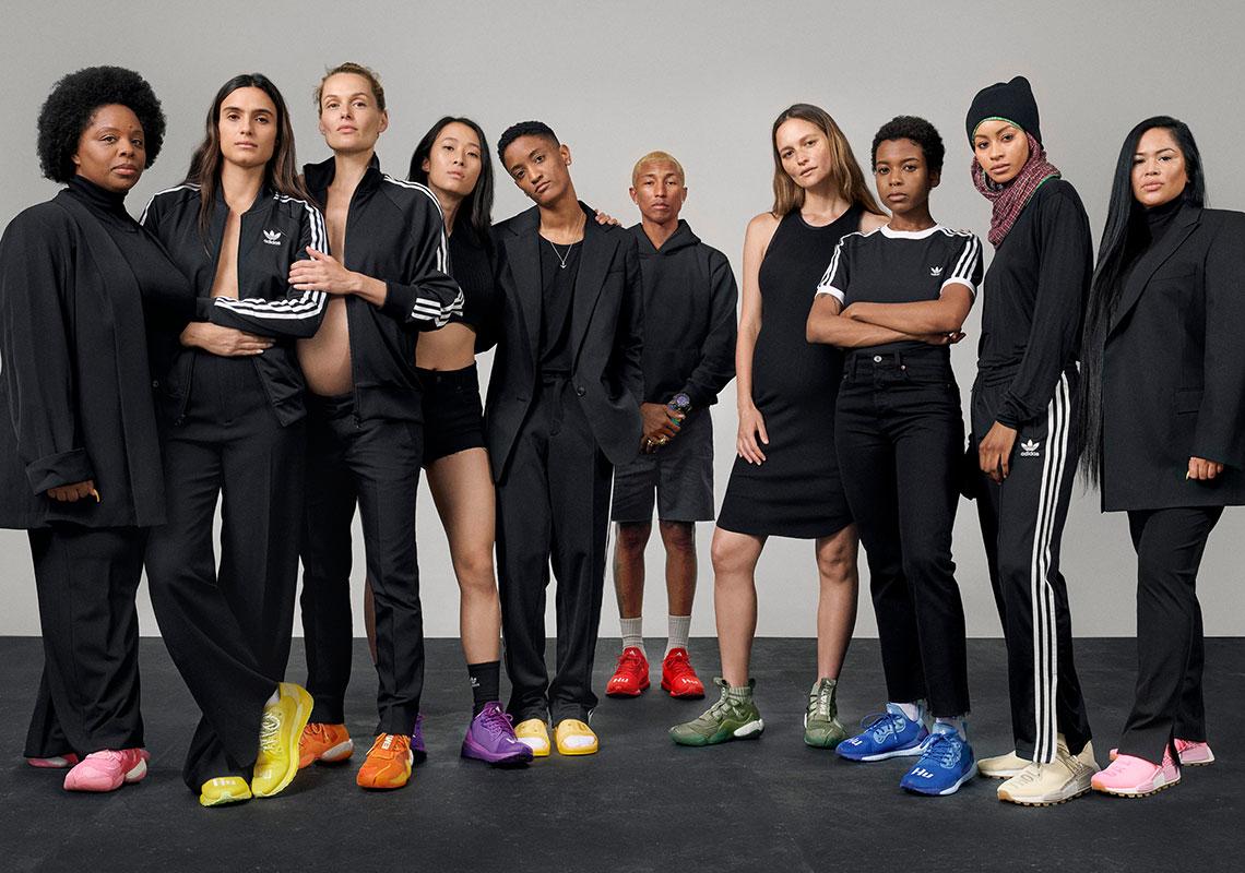 Pharrell adidas NMD + BYW + adilette