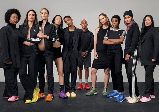 """Pharrell's """"Now Is Her Time"""" Collection With adidas Originals Releases Tomorrow"""