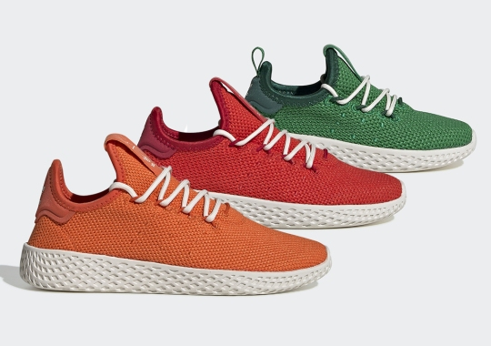 "Pharrell Brings Back The adidas Tennis Hu With ""Beauty In The Difference"" Capsule"