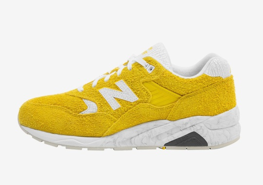 Randomevent Dresses Up The New Balance 580 In Suede And Cracked Leather
