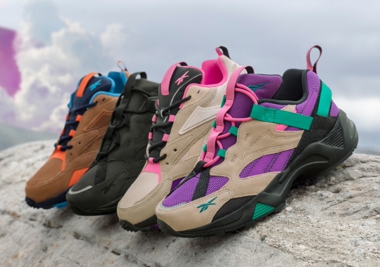 Reebok's Fall 2019 Trail Collection Reworks Classic Models For The Outdoors