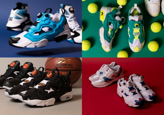 "The Reebok Instapump Fury ""Icons"" Pack Is Inspired By Pump-Adorned Classics"