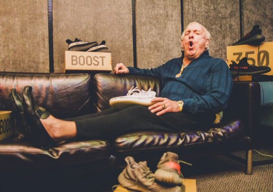 Wrestling Legend Ric Flair Signs With adidas