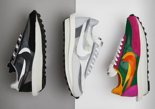 The Second Set Of sacai x Nike LDWaffles Are Releasing Tomorrow