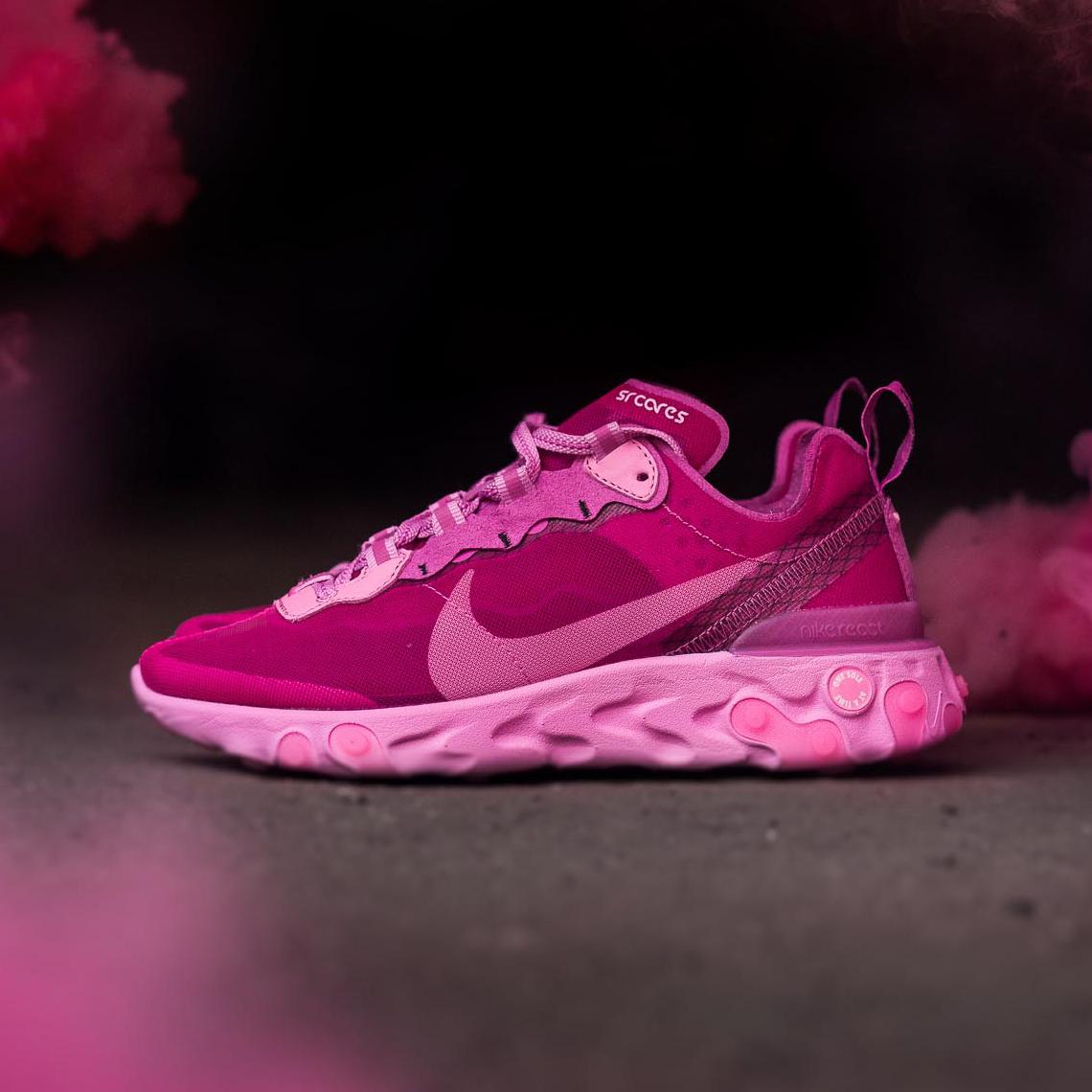Sneaker Room Nike React Element 87 Pink