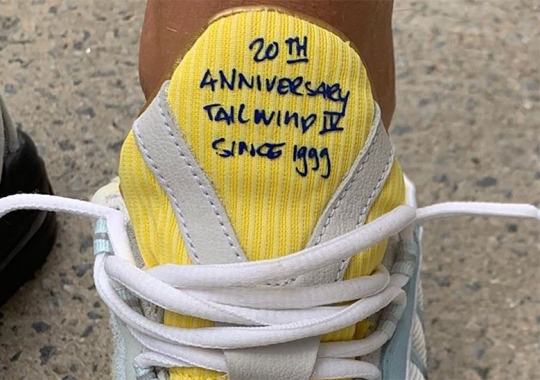 Sneakersnstuff Celebrates 20th Anniversary With Nike Air Max Tailwind IV