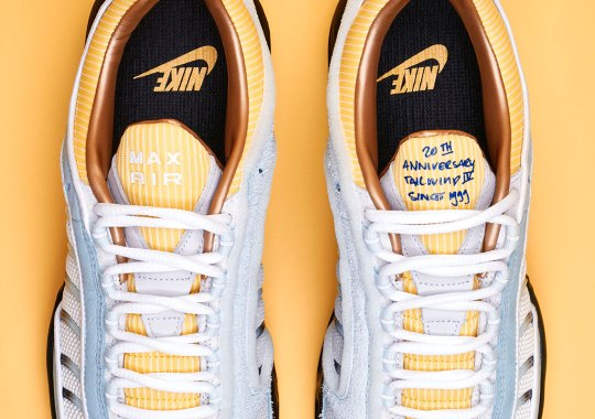 "Sneakersnstuff Will Exclusively Release The Nike Air Max Tailwind IV ""20th Anniversary"""