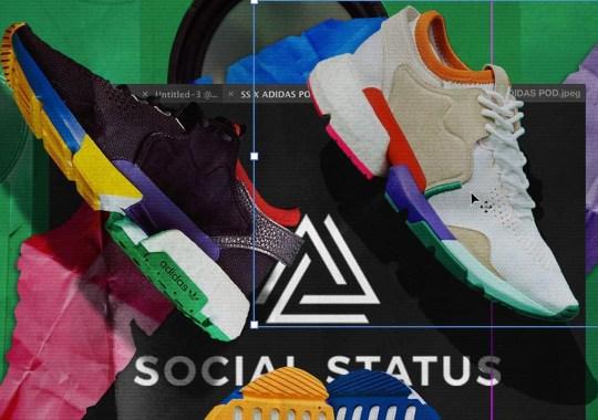 The Social Status x adidas Consortium Communitas POD Is Launching Worldwide