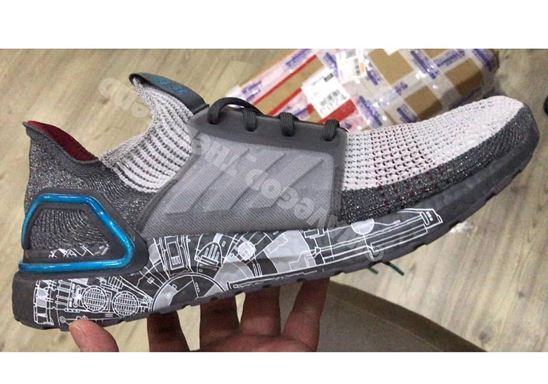 Star Wars adidas Ultra Boost 2019 Millennium Falcon FW0525