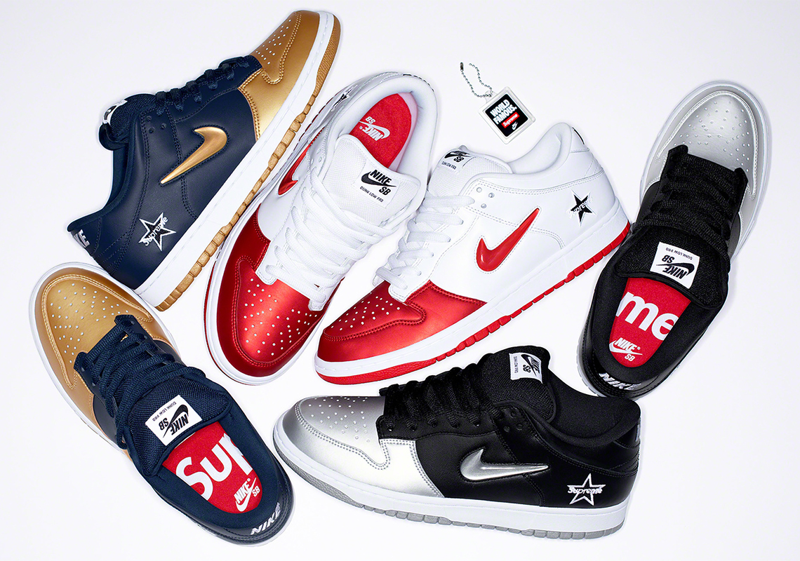 Supreme Nike SB Dunk Official Release Date + Photos ...