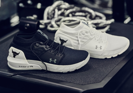 The Rock's New UA Shoe Will Be Available For Kids For The First Time
