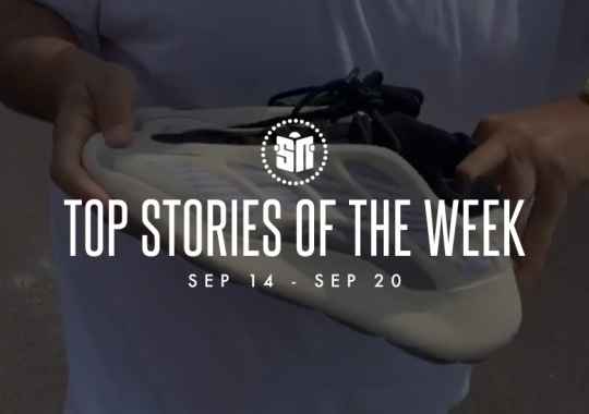 Thirteen Can't Miss Sneaker News Headlines From September 14th To September 20