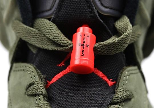 Travis Scott's Air Jordan 6 Now Targets October Release Date
